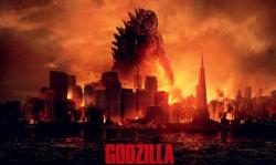 Godzilla-art