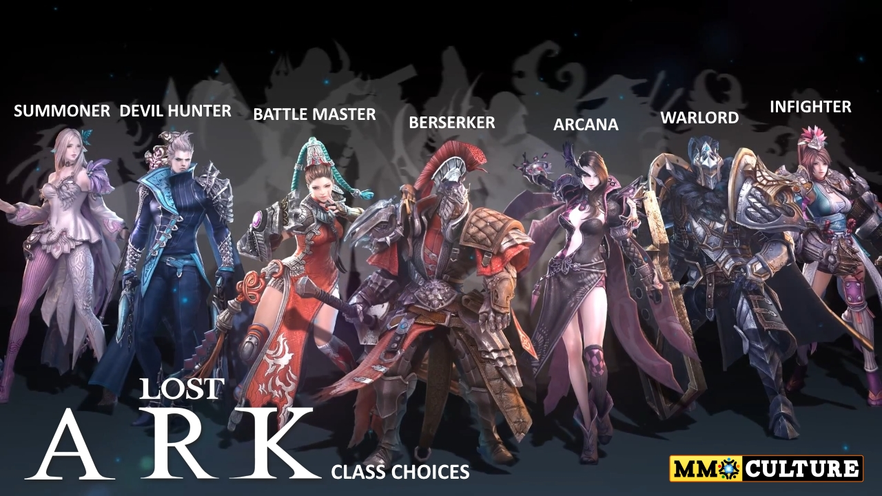 Lost-Ark-Class-choices