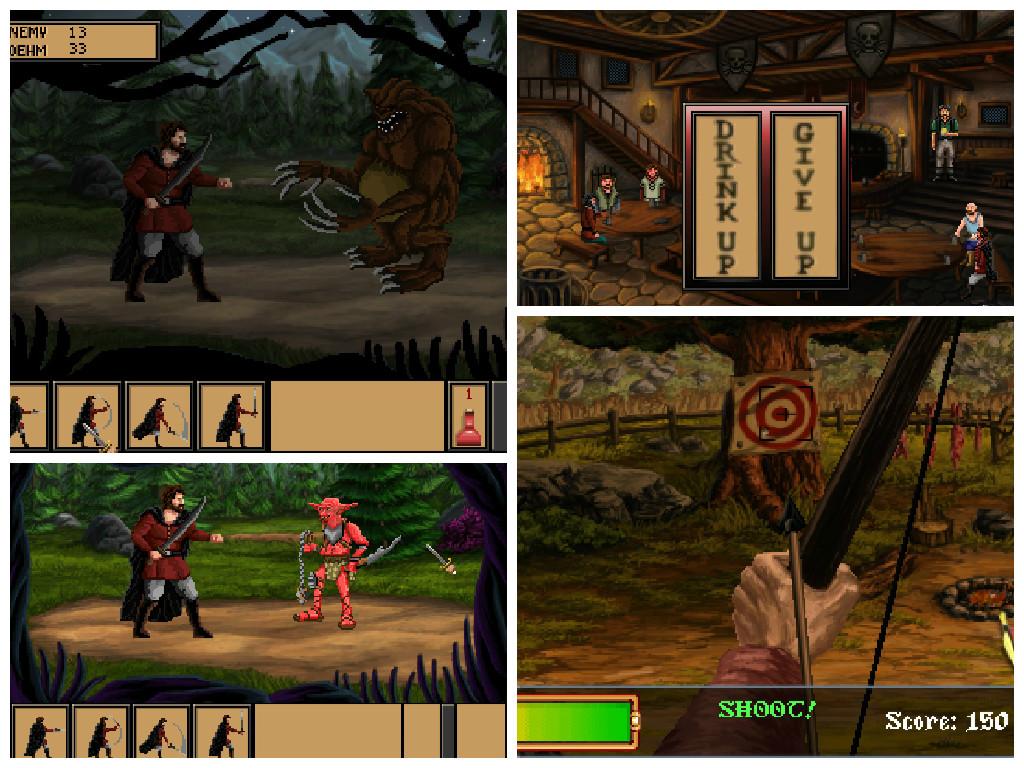 Liczne mini gry sprawią, że w Quest of Infamy nie będziecie ani chwili się nudzić