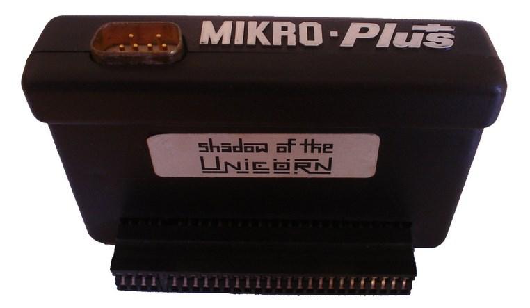 Shadow of the Unicorn - pierwsza i ostatnia gra z serii Mikro-Plus