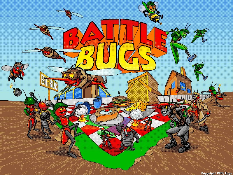 Battle Bugs, 1994, Epyx, Sierra
