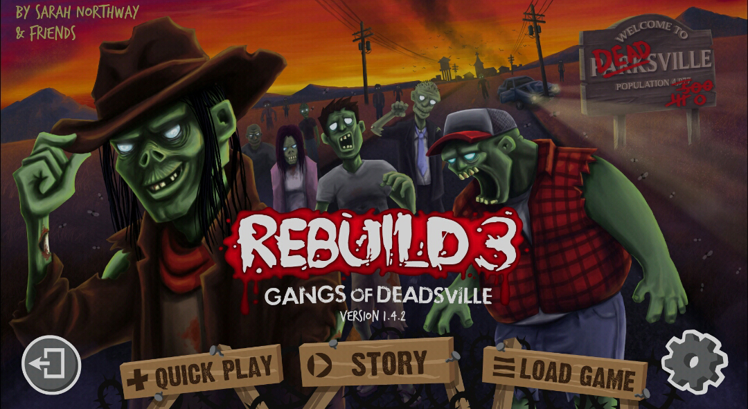 Rebuild 3: Gangs of Deadsville, 2015, Sarah Northway, Northway Games, PC, iOS, Android