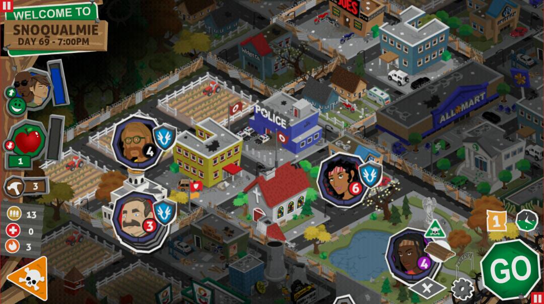 """""""Tak wygląda miasto nocą, że aż ręce mi się pocą..."""", Rebuild 3, Android"""