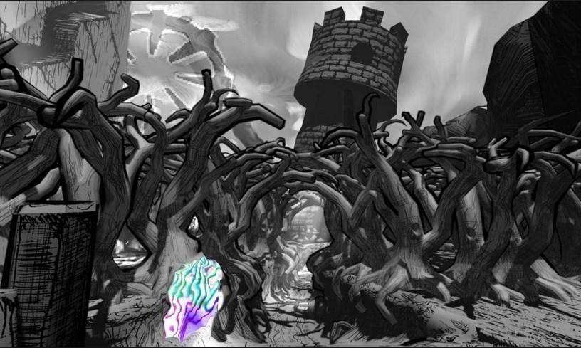 """W kwietniu subskrybenci HUMBLE MONTHLY otrzymali nieszablonowe i """"odjechane"""" graficznie RPG pod tytułem THE MAGIC CIRCLE."""
