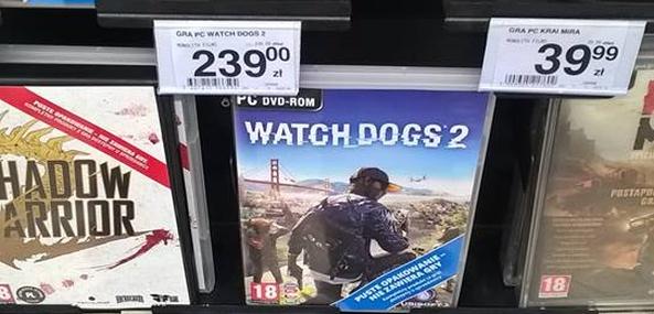 Taką ekstremalną cenę WD2 znalazłem w jednym z marketów...