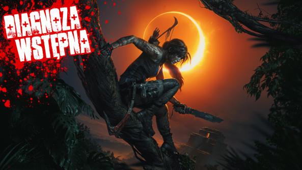 Cień... Cień Tomb Raidera...