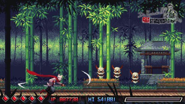 """""""Shadowplay"""" - dynamiczna siekanka z ninja-liskiem w roli głównej."""